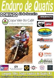 Cartaz do Enduro de Quatis